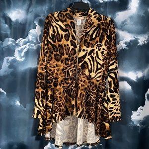 New: Karen T  Design Leopard Suit